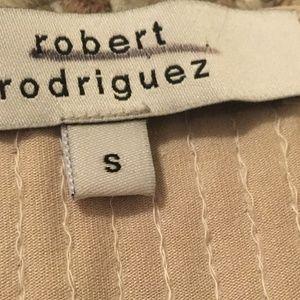 Robert Rodriguez Tops - Robert Rodriguez Nude Cocktail Blouse